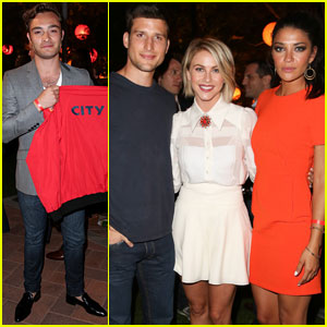 Ed Westwick & Jessica Szohr: City Year Los Angeles Fundraiser 2013