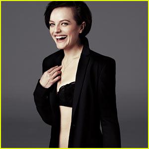 Elisabeth Moss: 'GQ' Bra & Underwear Outtake!