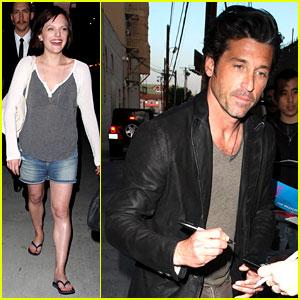 Elisabeth Moss & Patrick Dempsey: 'Jimmy Kimmel' Guests!