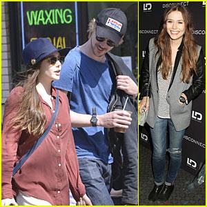 Elizabeth Olsen & Boyd Holbrook: Soho Strolling Couple!