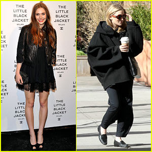 Elizabeth Olsen: Chanel's Little Black Jacket Event!