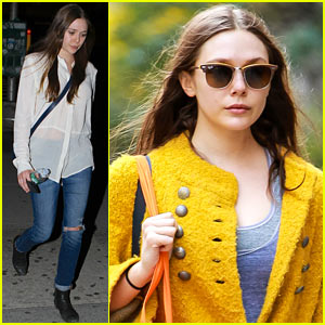 Elizabeth Olsen: Nighttime Stroll in the Big Apple!
