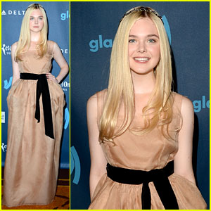 Elle Fanning - GLAAD Media Awards 2013 Red Carpet