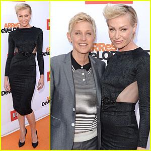 Ellen DeGeneres & Portia de Rossi: 'Arrested Development' Season 4 Premiere!