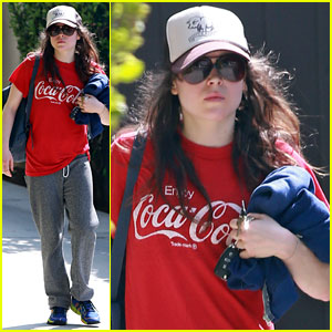 Ellen Page: Gym Time!