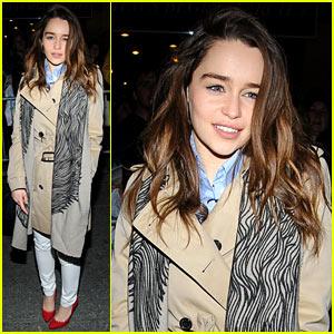 Emilia Clarke: I Feel Like An Idiot Filming 'GOT' with CGI Dragons