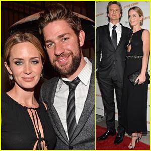 Emily Blunt: 'Arthur Newman' Premiere with John Krasinski!