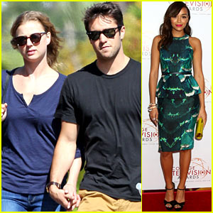 Emily VanCamp & Josh Bowman: Lunching Lovebirds!