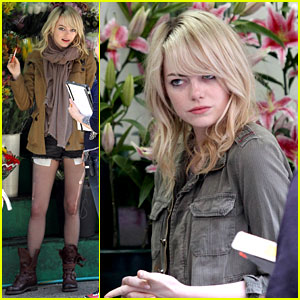 Emma Stone: 'Birdman' Set in the Big Apple!