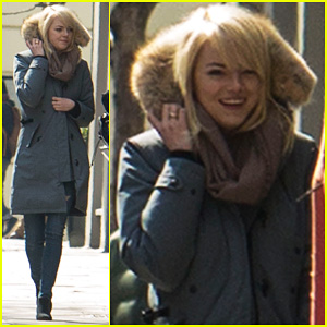 Emma Stone: Easter in London!