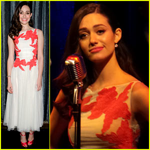 Emmy Rossum: Sayers Club 'Sentimental Journey' Performance!