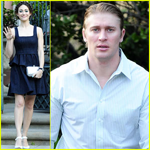 Emmy Rossum & Tyler Jacob Moore: 'Projects' Book Party!