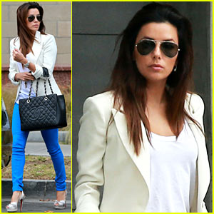 Eva Longoria: Errands Before 'Food Chains' Fundraiser!