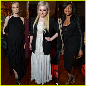 Evan Rachel Wood & Abigail Breslin: Tribeca Welcome Lunch!