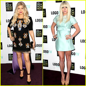 Fergie & Ke$ha: Logo's NewNowNext Awards Red Carpet!