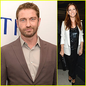 Gerard Butler & Kate Walsh: White House Correspondents' Dinner Weekend Pre-Party!