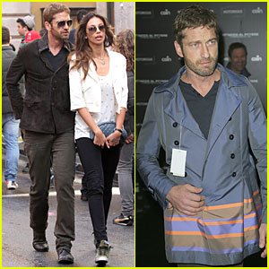 Gerard Butler & Madalina Ghenea: Rome Sightseeing Couple!