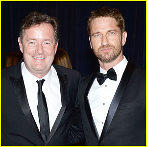 Gerard Butler - White House Correspondents' Dinner 2013 Red Car