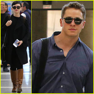 Ginnifer Goodwin & Josh Dallas: LAX Lovebirds!