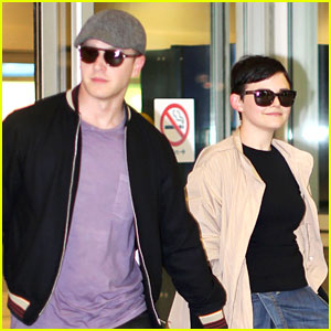 Ginnifer Goodwin & Josh Dallas: Vancouver Touchdown!