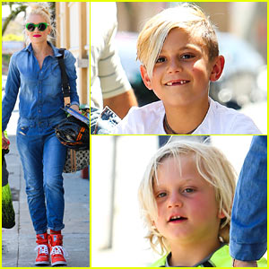 Gwen Stefani: Denim Day with Kingston & Zuma!