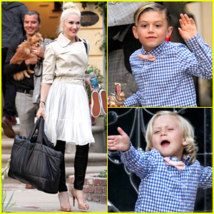 Gwen Stefani & Gavin Rossdale: Easter Sunday with the Kids!