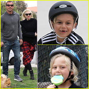 Gwen Stefani & Gavin Rossdale: Park Day with the Kids!
