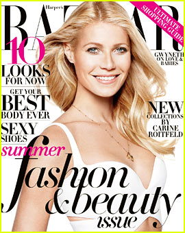 Gwyneth Paltrow Covers 'Harper's Bazaar' May 2013