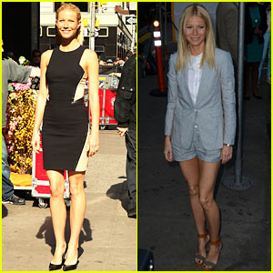 Gwyneth Paltrow: 'Good Morning America' Appearance!