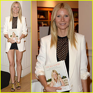 Gwyneth Paltrow: My Family Came to Book Signing at The Grove!