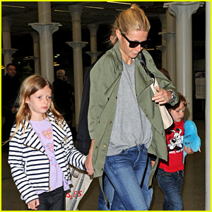 Gwyneth Paltrow: London to Paris with Apple & Moses!