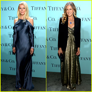 Gwyneth Paltrow & Sarah Jessica Parker: Tiffany Blue Book Gala!