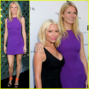 Gwyneth Paltrow: Tracy Anderson Studio Opening!