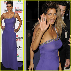 Halle Berry: Baby Bump for 'The Call' Buenos Aires!