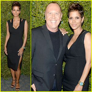 Halle Berry: Baby Bump at United Nations Dinner!