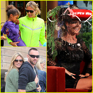 Heidi Klum: Family Weekend & 'Ellen' Appearance!