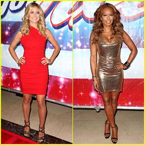 Heidi Klum & Mel B: 'America's Got Talent' in Los Angeles!