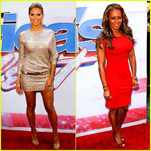 Heidi Klum & Mel B: 'America's Got Talent' in New York!