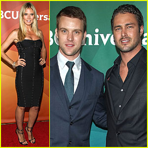 Heidi Klum & Taylor Kinney: NBCUniversal Summer Press Day!