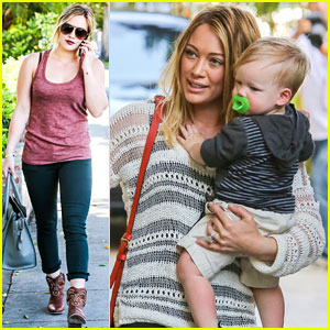 Hilary Duff: Birthday Parties With Baby Luca!