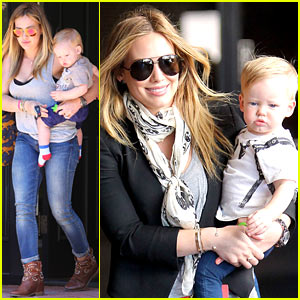 Hilary Duff: Luca Started Walking at Eleven Months!