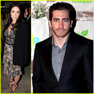 Jake Gyllenhaal & Abigail Spencer: Edible Schoolyard Benefit!