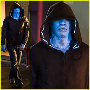 Jamie Foxx as Electro in 'Amazing Spider-Man 2' - First Look!