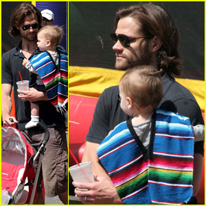 Jared Padalecki: Farmers Market Trip with Son Thomas