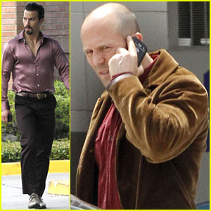 Jason Statham & Milo Ventimiglia: 'Heat' Set Break!