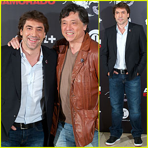 Javier Bardem: 'Alacran Enamorado' Photo Call with Brother Carlos!