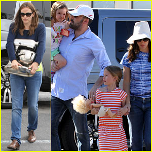 Jennifer Garner & Ben Affleck: Weekend Shopping with the Girls!