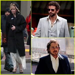 Jennifer Lawrence & Bradley Cooper: 'Abscam' Night Shoot!