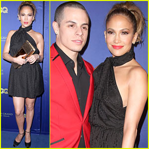 Jennifer Lopez & Casper Smart: Hakkasan Opening Night!