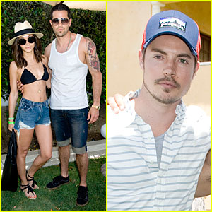 Jesse Metcalfe & Josh Henderson: Just Jared/Armani Exchange Music Festival Brunch!